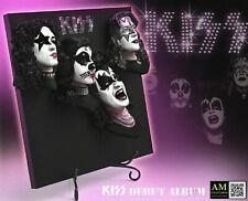 KNUCKLEBONZ ROCK ICONZ KISS 3D VINYL DEBUT ALBUM - LIMITED STATUE OF 1974 PIECE