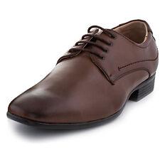 Adolfo Men's Lace Up Dress Shoes London-2 Dark Brown Size 13 US