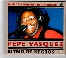 (HK267) Pepe Vasquez, Ritmo De Negros - 2000 CD