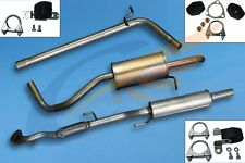 SKODA FABIA 1.2i 2005-2009 Full exhaust from CAT