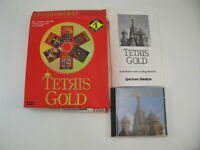 Tetris Gold-Spectrum HoloByte-CD ROM-DOS-MAC-Windows-Software Vintage Big Box