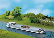 Faller 131006 Ho River Freighter with Livin Cabin # New original packaging #