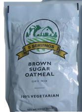 Emergency Survival Food BROWN SUGAR OATMEAL 5-Serving Pouch 100% Vegetarian