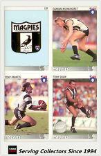 1993 Inaugural Select AFL Trading Card Base Team Set Collingwood (13)-MINT