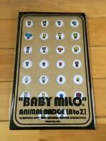 RARE A Bathing Ape BAPE Baby Milo 2005 Animal Badge Pin Button Set