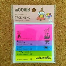 Moomin Sticky Note Memo Pad 5 Colors ( Little My ) S2820897