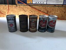Lone Star  Pearl Cans Grand Prize Beer Can Flat Top