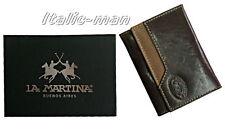 Portaschede/Portacards LA MARTINA - 513.006 - marrone/brown