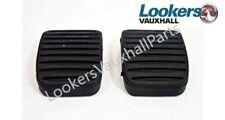 Genuine Vauxhall Corsa D/E Meriva B Adam Clutch / Brake Pedal Rubber 93188880 x2
