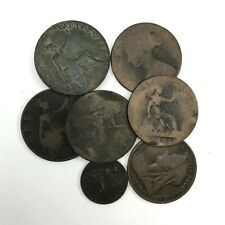 Job Lot of ANTIQUE VICTORIAN Coins - Collectors Clear-out <T14 / C3