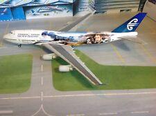 Herpa PREMIUM Air New Zealand Boeing 747-400 ZK-SUJ Aragorn 1/200 scale model