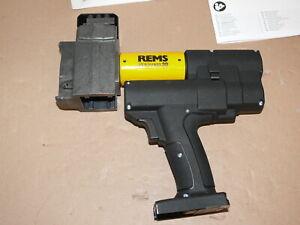 Rems Akku-Ax-Press  30 - 22V Axialpresse für Druckhülsen