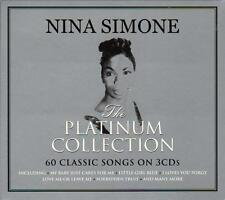 NINA SIMONE - THE PLATINUM COLLECTION - 60 CLASSIC SONGS (NEW SEALED 3CD)