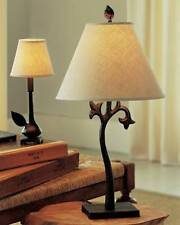 2 Pottery Barn Botanical Table Lamps With Shade