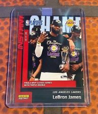 2019-20 Panini Instant Lebron James /3938 NBA Champion Finals MVP Triple Double