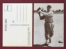 WAHOO SAM CRAWFORD, Detroit Tigers postcard (1978 Dover-Sugar) HOF'er