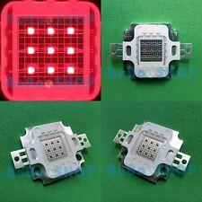 10W Red 625nm-630nm High Power LED Lamp Light Spotlight for Plant Aquarium DIY