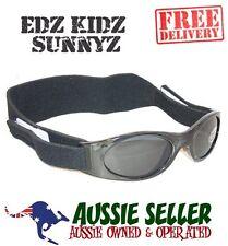 EDZ KIDZ SUNNYZ - Kids Baby Sun glasses BLACK+Bag -100% UV PROTECT-FREE SHIPPING