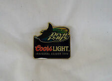 VTG Old Logo MLB Baseball Hat pins - Tampa Bay Devil Rays 1998 Coors Light NEW