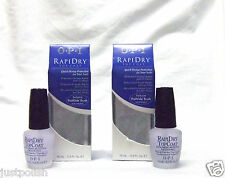 OPI Nail Treatment Rapidry Rapid Top Coat Fast Quick Dry .5oz/15ml ~2ct~