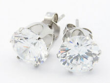 Stud Earrings-Cubic Zirconia Earrings-Clear-April-Gifts For Women-For Her