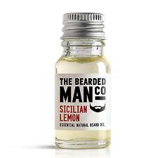 Sicilian Lemon Beard Oil Conditioner Male Grooming Gift 10ml