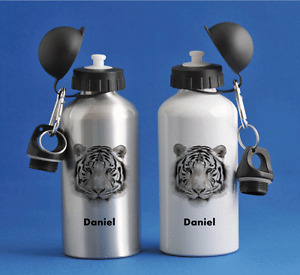 Tiger - Personalised Kids/Drinks/Sports Childrens Water Bottle