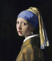The Girl With A Pearl Earring by Johannes Vermeer, Oil Painting Reproduction