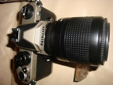 +AWESOME+ Nikon FM/2T 35mm Titanium camera body with two Nikon lenses PRISTINE!!