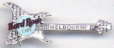 Hard Rock Cafe MELBOURNE 1999 ARIA Guitar PIN - SILVER - HRC #5434