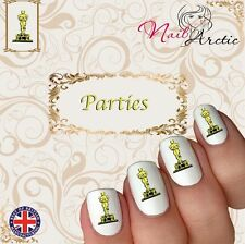 Oscar Party Award Celebration Nail Art Sticker Water Decals Transfer Stickers