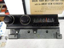 mopar 1971-74 cuda challenger am fm radio with cassette pig tail