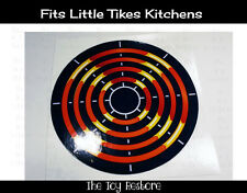 Replacement Decal Sticker fits Little Tikes Kitchen Burner Element Stovetop A