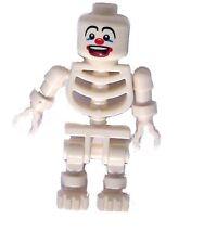 Lego White Skeleton Clown White Skeleton Lucky Mini Figure White New