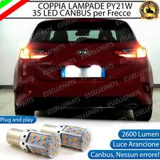 COPPIA LAMPADE PY21W CANBUS 35 LED KIA CEED MK3 FRECCE POSTERIORI NO AVARIA LUCI