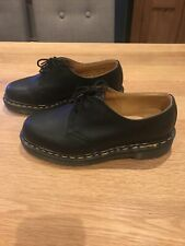 Brand New Dr Martens Satra P9428 MADE IN ENGLAND Black Leather Shoes UK 5