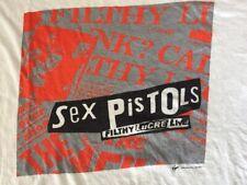 Sex Pistols Filthy Lucre Live Tour 1996 Virgin America EMI Japan Vintage Shirt