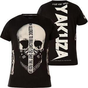 YAKUZA Gaucho T-Shirt TSB-18047 Schwarz T-Shirts