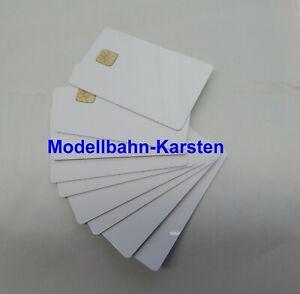 10x Chipkarte Lokkarte ähnlich Märklin 60135,jedoch unbedruckt für MS und CS NEU