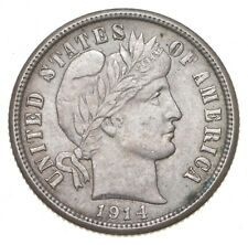 New listing 1914 Barber Dime - Charles Coin Collection *750