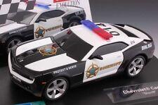 Carrera Evolution 27523 Chevrolet Camaro Sheriff 1/32 Scale Analog Slot Car