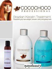 Cocochoco Brazilian Keratin Treatment Blow Dry Hair Straightening 250ml X 2