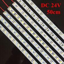 24V 0.5m Double Row 5630 7020 8520 LED Strip Lights Rigid LED Bar Lighting 50cm