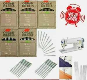 Industrial Sewing Machine organ Needles fit brother juki & most machine best 👌