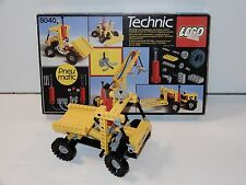 LEGO TECHNIC No 8040 PNEUMATIC UNIVERSAL BUILDING SET 100% COMPLETE IN BOX