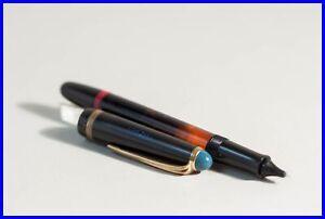 1950s Black & Blue TIKU Rotring TINTENKULI SPEZIAL Ink Pen Technical drawing