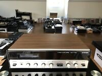 Mint Pioneer 8 Track AMFM Stereo Model H-7000 Receiver Perfect Working Condition