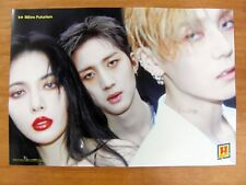TRIPLE H  REtro Futurism (Ver. A) [OFFICIAL] POSTER *NEW* K-POP Hyuna Hui E'Dawn