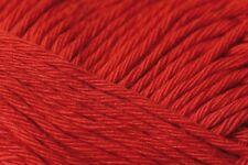 4 X 50g Balls Rico Creative Cotton Aran Red