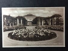 RP Vintage Postcard - Somerset #A7 - Rose Walk Winter Gardens Weston Super Mare